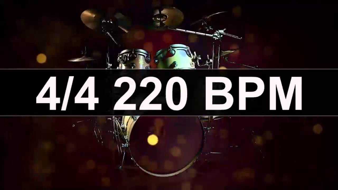 Drum backing track in the key of - Jamtrack 2817