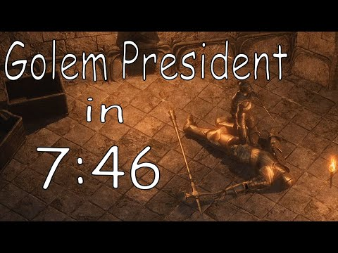 Exanima - Golem President in 7:46 |