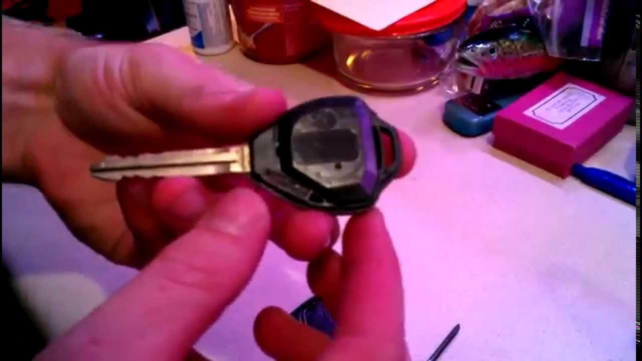 2010 toyota camry key fob programming