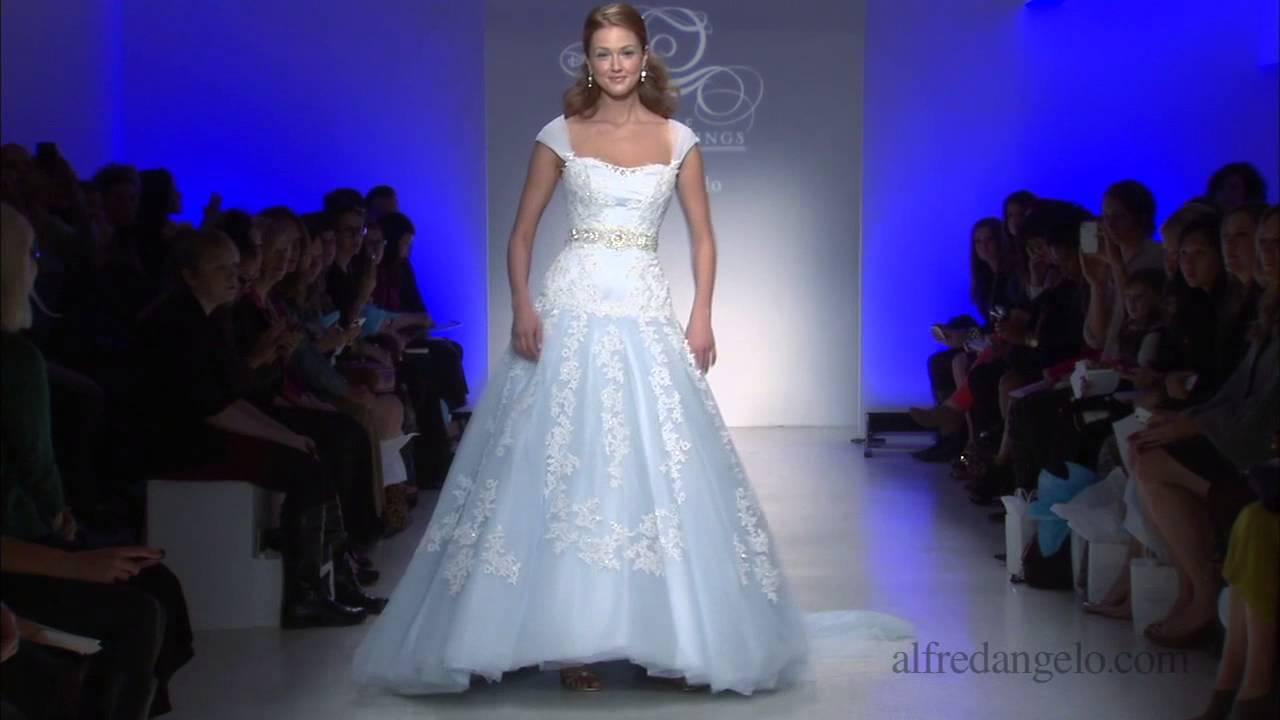 Frozen designer wedding dress