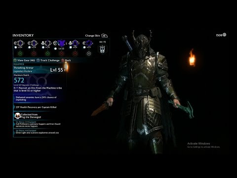 Middle Earth Shadow Of War Legendary Undead Explosive Build and Defending Fortress |