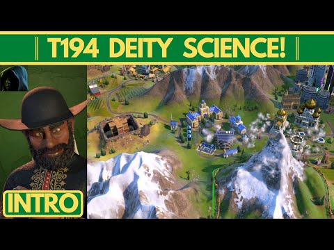 T194 Deity Science Victory│Ethiopia/Voidsingers│Intro |