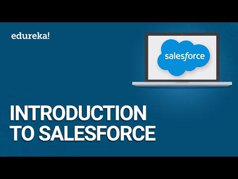 Introduction to Salesforce | Salesforce Tutorial for Beginners | Salesforce Training | Edureka