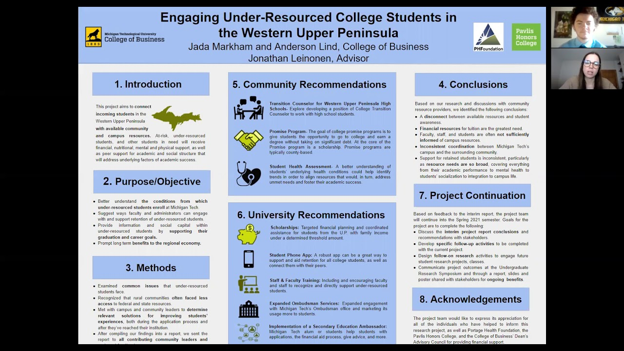 Preview image for Engaging Under-Resourced College Students in the Western Upper Peninsula video
