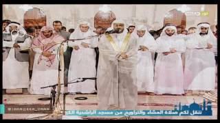BACAAN AL QURAN MERDU Syaikh Nabil Al Rifai Menjadi Imam Shalat Tarawih Ramadhan 1437 H