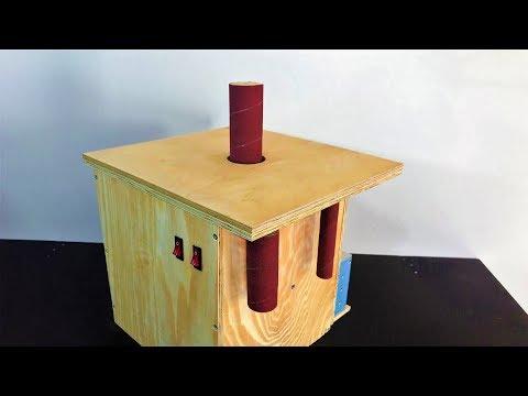 Building the Oscillating Spindle Sander - Salınımlı Rulo Zımpara Makinası