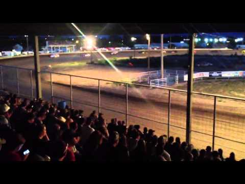 Thomas County Speedway- July 6, 2013-Sport Mod Feature Part