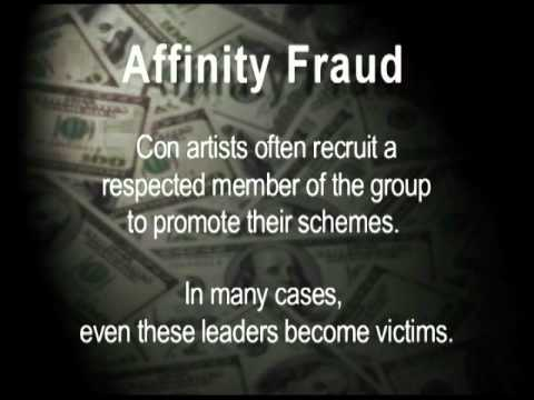 Investor Protection Presentation - Affinity Fraud