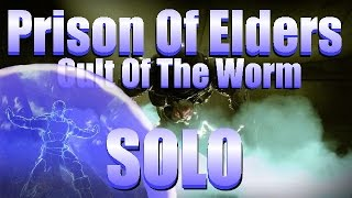 "Destiny - Soloing Lvl 32 Prison Of Elders ""Cult Of The Worm"" Arena W/ Defender"