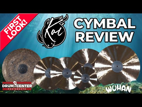 Download NEW Wuhan Koi Series Cymbal Review - Affordable High End?