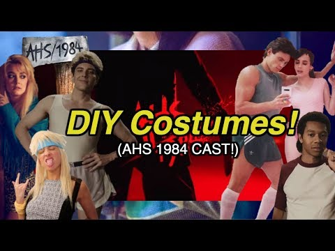 AHS: 1984 Halloween Costumes 2019 (thrifted, DIY & EASY)