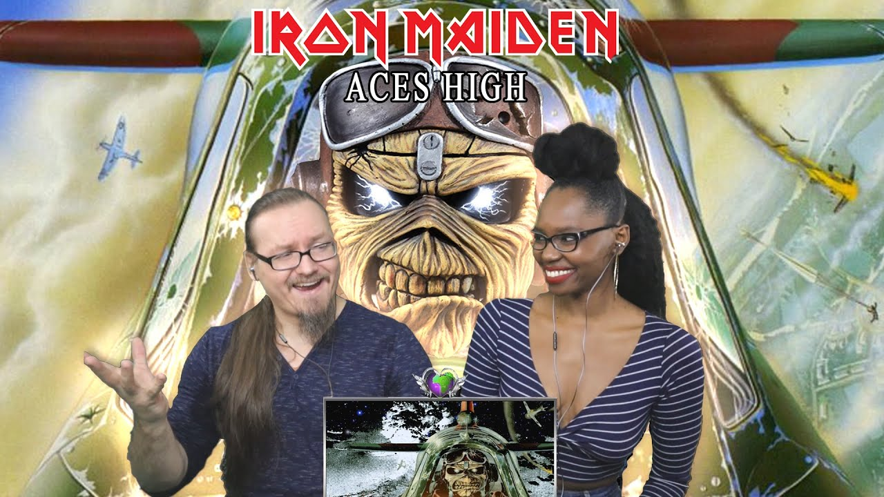 Download IRON MAIDEN - Aces High (REACTION!!!)