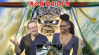 IRON MAIDEN - Aces High (REACTION!!!)