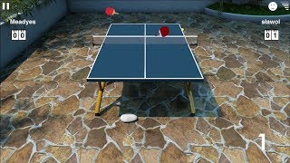 My Top 10 of best points online - Virtual Table Tennis for iPhone