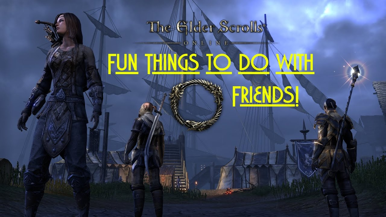 the elder scrolls online fun things to do with your friends youtube. Black Bedroom Furniture Sets. Home Design Ideas