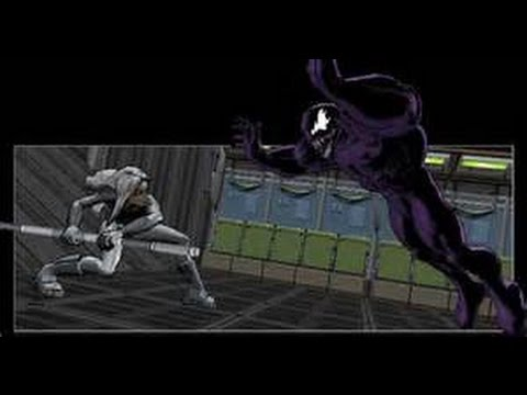 Ultimate Spider Man Silver Sable BOSS and Level