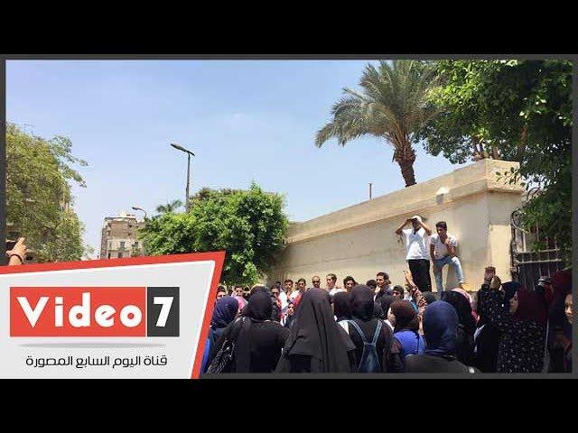 """الطلاب الراسبون بالثانوية يقطعون الطريق أمام """"التعليم"""""""