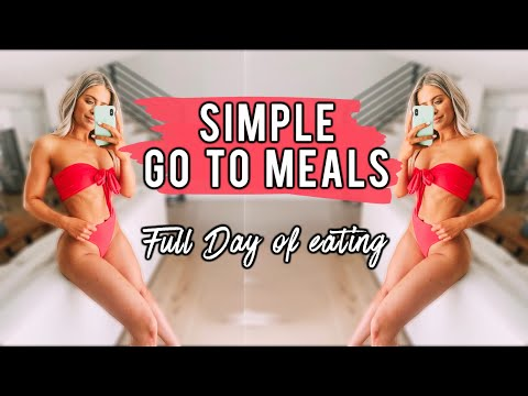EVERYTHING I EAT IN A DAY! Healthy and Quick