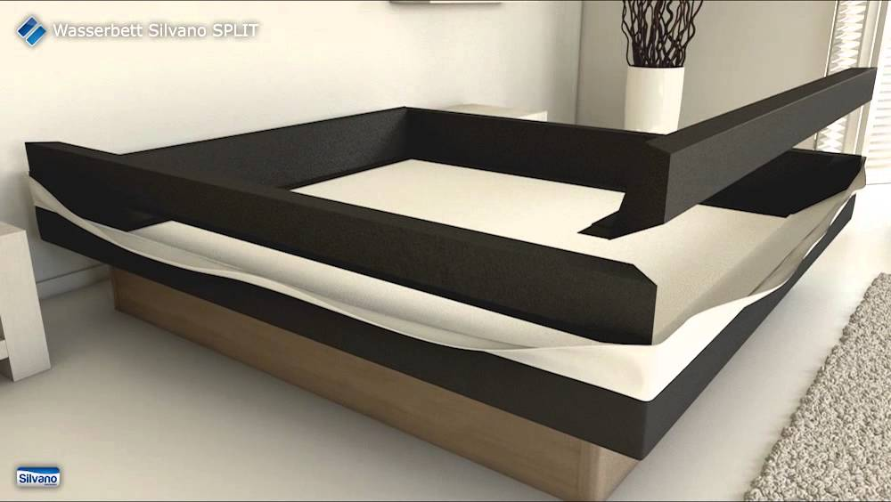 aufbau wasserbett silvano split youtube. Black Bedroom Furniture Sets. Home Design Ideas