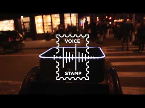 """""""Your Voice Is Your Stamp""""—US Postal Service"""