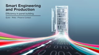 Smart Engineering and Production - Efficiency in panel building