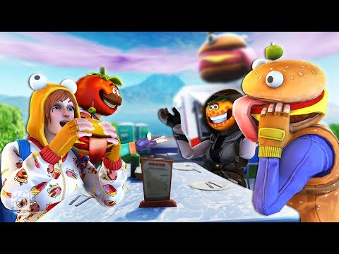 ONESIE AND DURR BURGER DOUBLE DATE!? *NEW SEASON 7* - A Fortnite Short Film