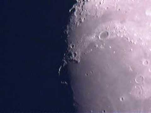 Moon Taken Using Logitech Quickcam Pro 4000 Web Cam Youtube