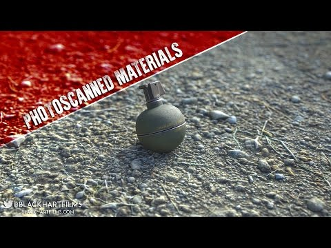 How to Create Photoscanned Materials for Blender