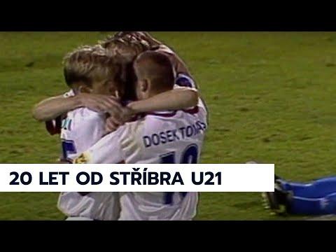 Dvacet let od stříbrného finále ME U21 - sestřih českých gólů