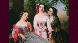 Женский портрет в живописи художников