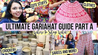 Kolkata Street Shopping   ULTIMATE GARIAHAT GUIDE!! PART A