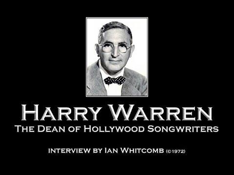 Harry Warren Interview 1972