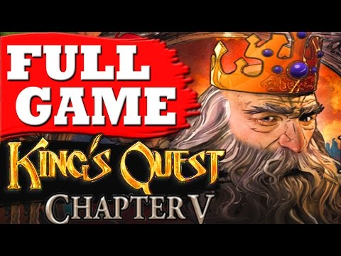 King's Quest Chapter 5 Gameplay Walkthrough Part 1 FULL GAME - No Commentary