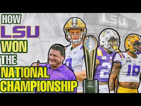 How LSU WON The NATIONAL CHAMPIONSHIP (Lost to TROY TWO YEARS AGO)