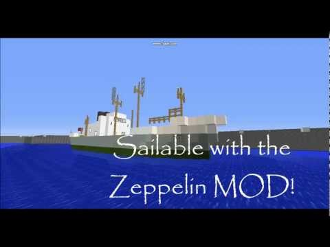 Minecraft - 1960s Cargo Ship 'M.V. Lagos Palm'