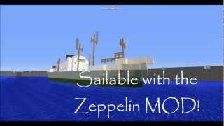 Minecraft - 1960s Cargo Ship 'M.V. Lagos Palm'