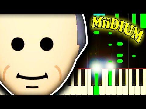 MII CHANNEL THEME - Piano Tutorial