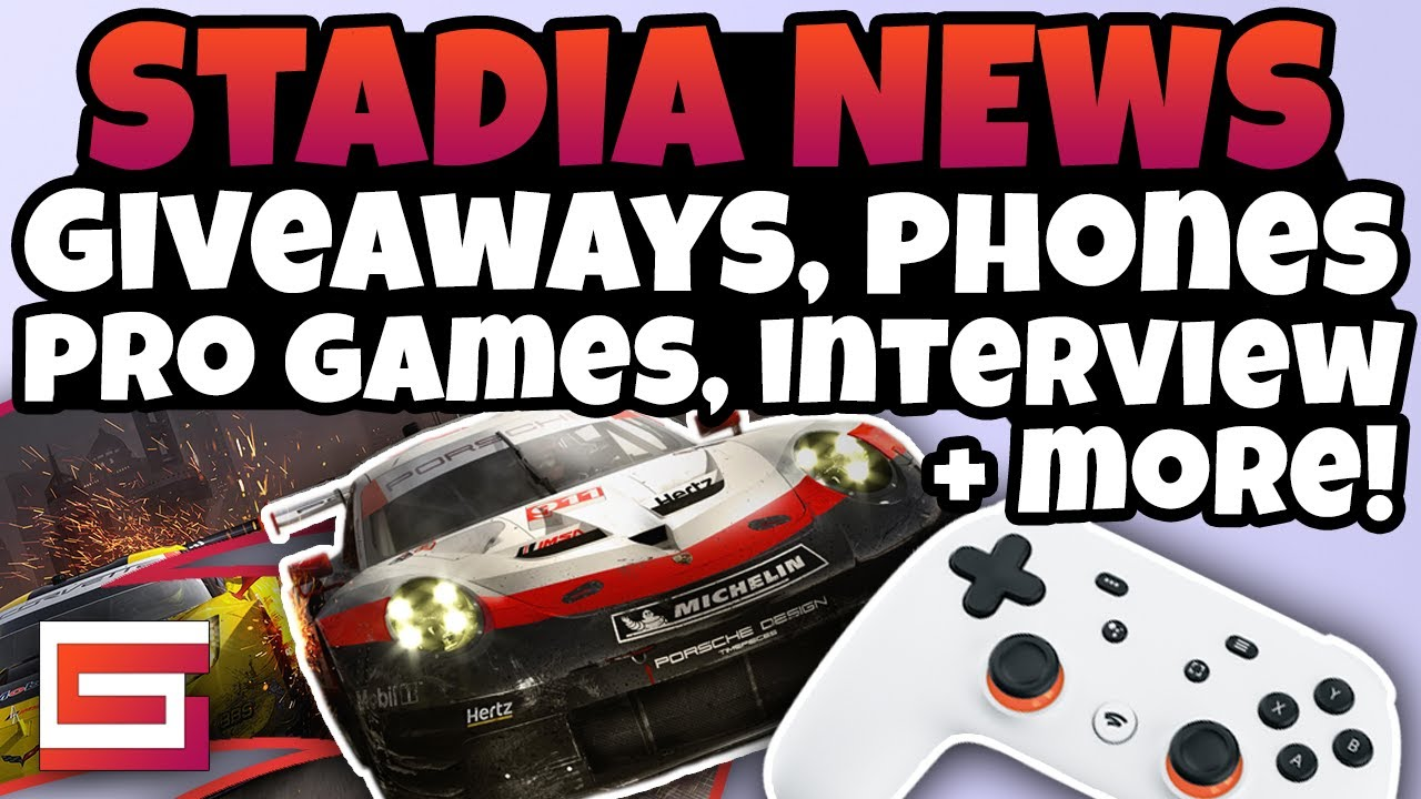 Stadia News Update - Stadia Pro Games, Interview, Giveaways & More!