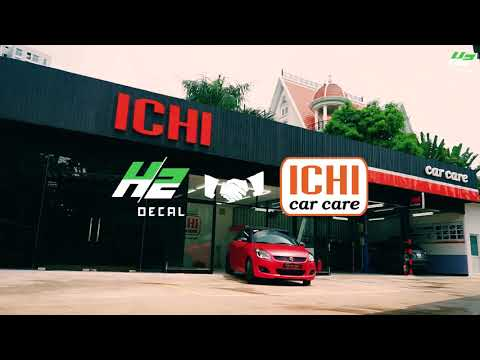 Decal đổi màu xe - ICHI Car Care & H2