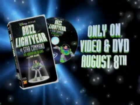 Random Movie Pick - Buzz Lightyear of Star Command: The Adventure Begins Commercial YouTube Trailer