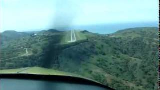 Grumman AA1A Landing Catalina Airport Rwy22