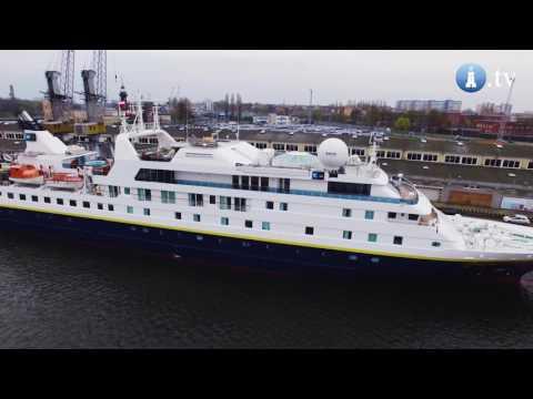 Wycieczkowiec National Geographic Orion po raz pierwszy w Gdańsku