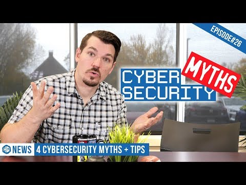 The Truth Behind 4 Common Cybersecurity Myths - HQ #26
