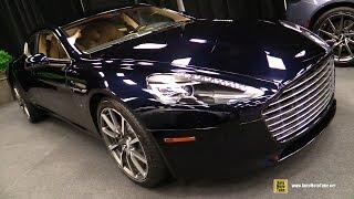 2018 aston martin rapide s - exterior and interior walkaround montreal auto show