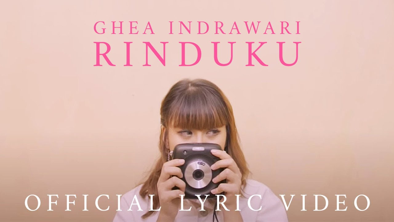 Ghea Indrawari - Rinduku (Official Lyric Video) #1