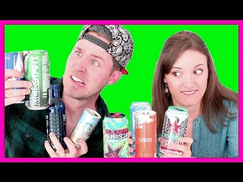 ENERGY DRINK TASTE TESTING (with my little sister)