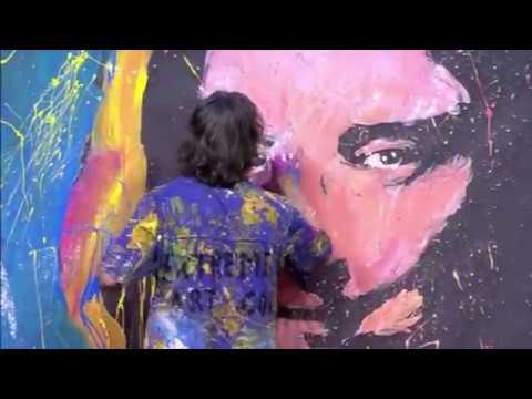JEAN FRANCOIS EXTREME ARTIST ORIGINAL SPEED PAINTER