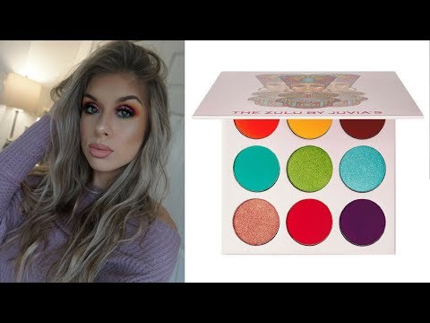 Using EVERY Eyeshadow Inside Of The Palette Challenge! Juvias Place ZULU Palette