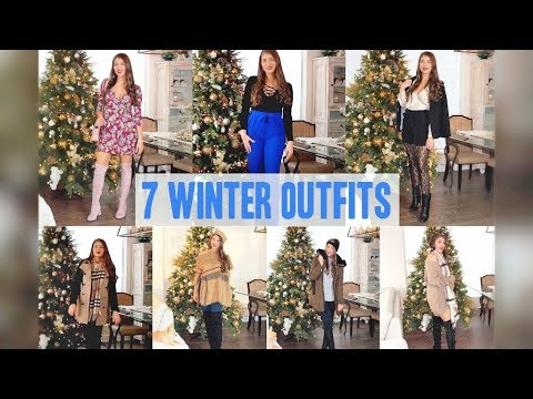 Winter Fashion | 7 Dressy & Casual Outfit Ideas