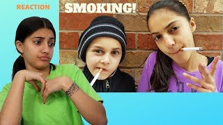 Reacting To Kids Smoking Prank!